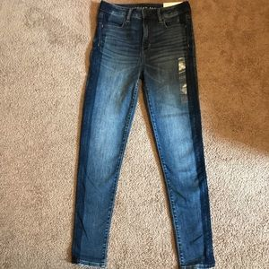 BRAND NEW AMERICAN EAGLE SUPER HIGH RISE JEGGING